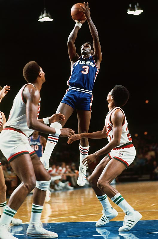 The Nets neared the midway point of the 2009-2010 on pace to become the worst team in NBA history. That distinction currently belongs to the '72-73 Sixers. Denied star forward Billy Cunningham after a court ruled he was obligated to play in the ABA, Fred Carter (pictured) and the Sixers put together four separate losing streaks of at least 13 games while crafting the worst season in league history. Lacking in talent and savvy, the 76ers surrendered a league-worst 116.2 points per game.