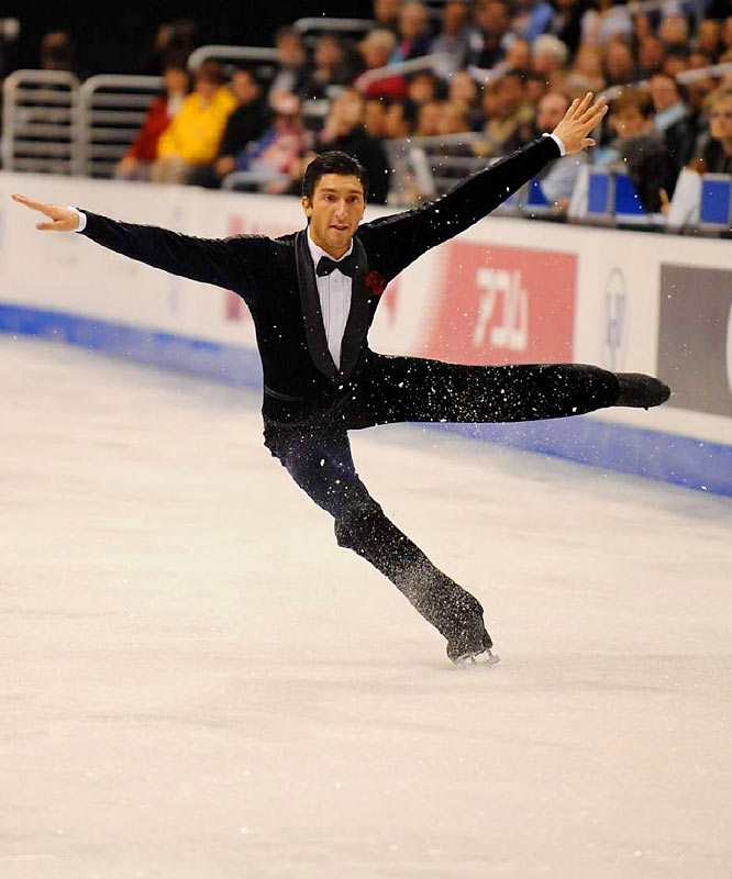 At the Turin Games, the Chicago native suffered a bout of dehydration after a disastrous short program that took him out of medal range. Now he enters the Vancouver Games as the world champion in an unusual year when U.S. men are likely to upstage the women at an Olympics.