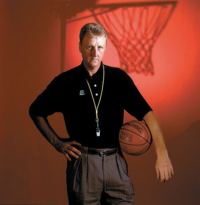 The Pacers' coach poses for an SI cover shoot.