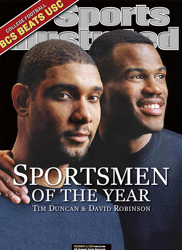 <p>Tim Duncan and David Robinson</p>