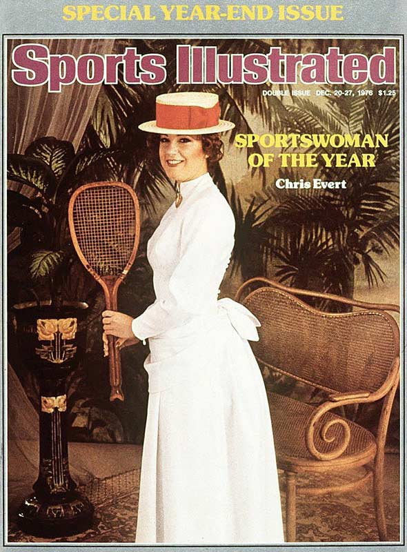<p>Chris Evert</p>