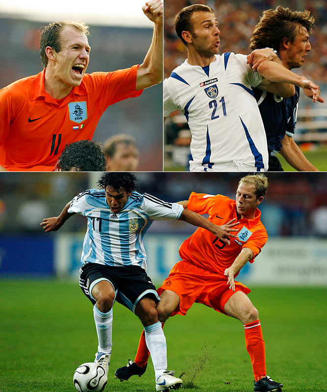 Germany's 2006 event featured two strong Group of Death candidates, with Group E producing eventual Cup-winner Italy, surprise second-place finisher Ghana, pre-tournament heavyweight Czech Republic and the feisty United States. Group C, however, was considered more lethal, as it featured two powerhouse nations, Argentina and the Netherlands, as well as promising Cup debutantes Ivory Coast and Serbia & Montenegro. Though initially predicted to be a competitive table, the traditional favorites ultimately had their way with the group, and both Argentina and the Netherlands advanced easily, with the South Americans reaching the quarterfinals.