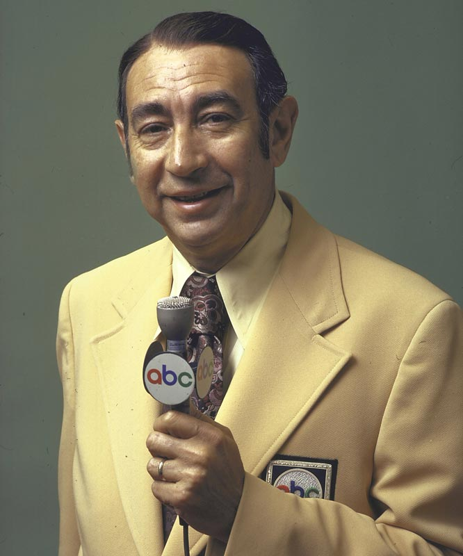 After 15 years in the broadcast booth, Howard Cosell retires from the NFL's Monday Night Football.