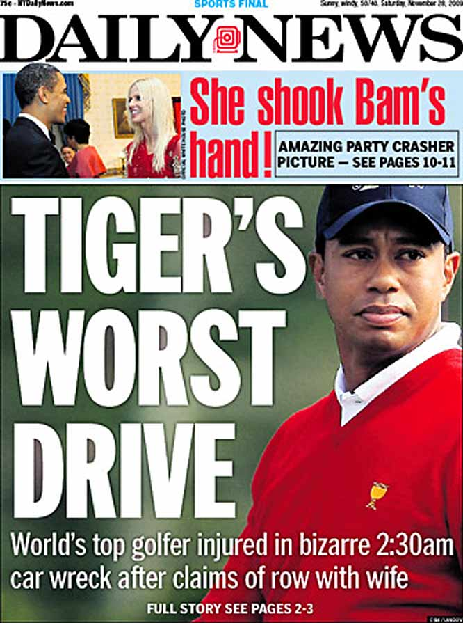Tiger Woods Newspaper Headlines | SI com