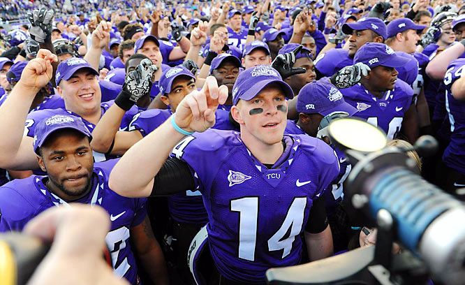 <i>TCU and Boise State love this tweet:</i><br><br> The BCS was created by conferences & schools in 98 to assure a matchup between the top 2 teams while enhancing the bowl season.<br>10:06 AM Dec 1