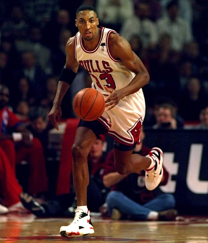 In January 1994, the Bulls' All-Star forward was arrested after officers found a loaded .380-caliber pistol in his Range Rover, which was illegally parked outside a Chicago restaurant. Though Pippen had a license for the gun, police said he was not entitled to carry it in public.