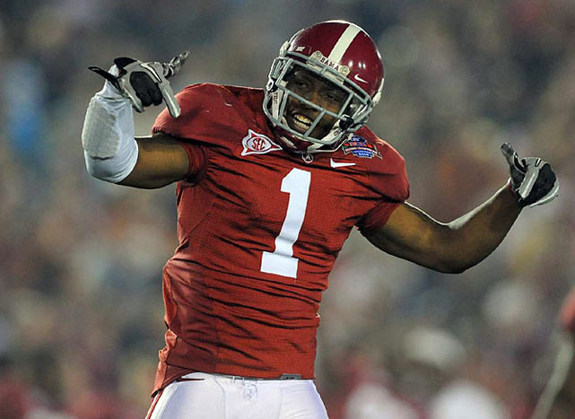B.J. Scott and the Tide bought into coach Nick Saban's philosophy and won a national title in his third year at the helm.