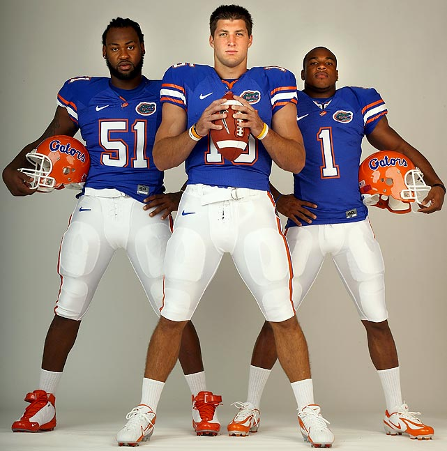 Quarterback Tim Tebow won the 2007 Heisman Trophy, but he, receiver Percy Harvin, linebacker Brandon Spikes and the rest of the 2006 Florida recruiting class are more proud of the two national titles the Gators claimed during their time in Gainesville.