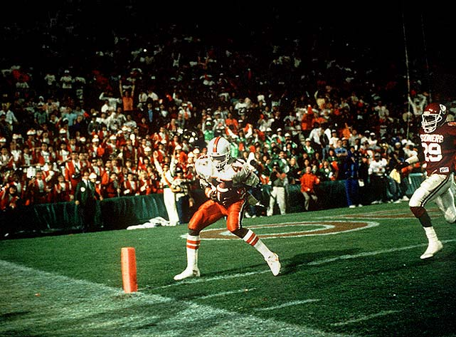 Michael Irvin was part of the group Miami coach Jimmy Johnson inherited his first season in Coral Gables. Irvin and his class helped the Hurricanes win the 1987 national title.