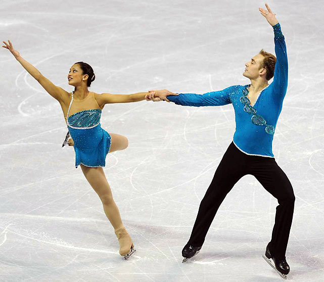 In beating out favored pairs Keauna McLaughlin and Rockne Brubaker as well as Rena Inoue and John Baldwin, the surprise U.S. silver medalists -- their first medal in seven trips to nationals -- will be making only their second career major international appearance this month. They finished fifth at the Four Continents Championships in 2005.