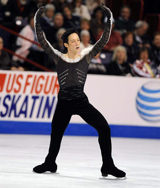"Figure skating's most outspoken and colorful character may have his own TV show (the Sundance Channel's Be Good Johnny Weir), but don't underestimate his seriousness as a competitive athlete: The 25-year-old is a three-time U.S. national champion and has bronze medals from the 2008 world championships and two Grand Prix Finals. Even so, Weir, who was second after the short program in Turin but fell apart in the long to finish fifth, contemplated quitting the sport last spring after failing to make the world team for the first time since 2003. He changed his mind after a pep talk from his mother. ""I haven't worked this hard for this long to just say, `Okay, I'm done,'"" he told ESPN last month. ""I have to go out with a bang. Either good or bad, I have to go out knowing I did everything I could."""
