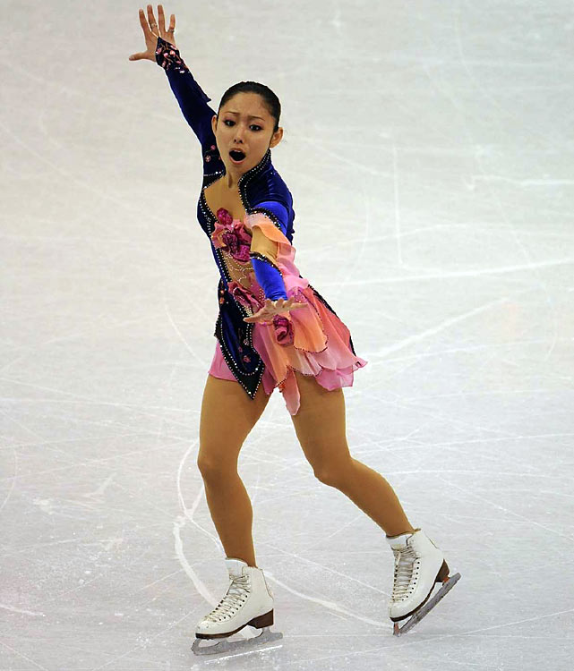 The skater, 22, remains the only female to perform a quadruple jump in competition (a Salchow at the junior Grand Prix Final in 2002). Despite missing this year's world championships because of an uncharacteristic fourth-place finish at nationals in Japan, the 2007 world champion, who came in 15th in Turin, is poised to be a contender in Vancouver. She won both of her Grand Prix events this season (the Rostelecom Cup in Moscow and the NHK Trophy in Nagano) to earn a trip to the GP Final in Tokyo, where she took silver.