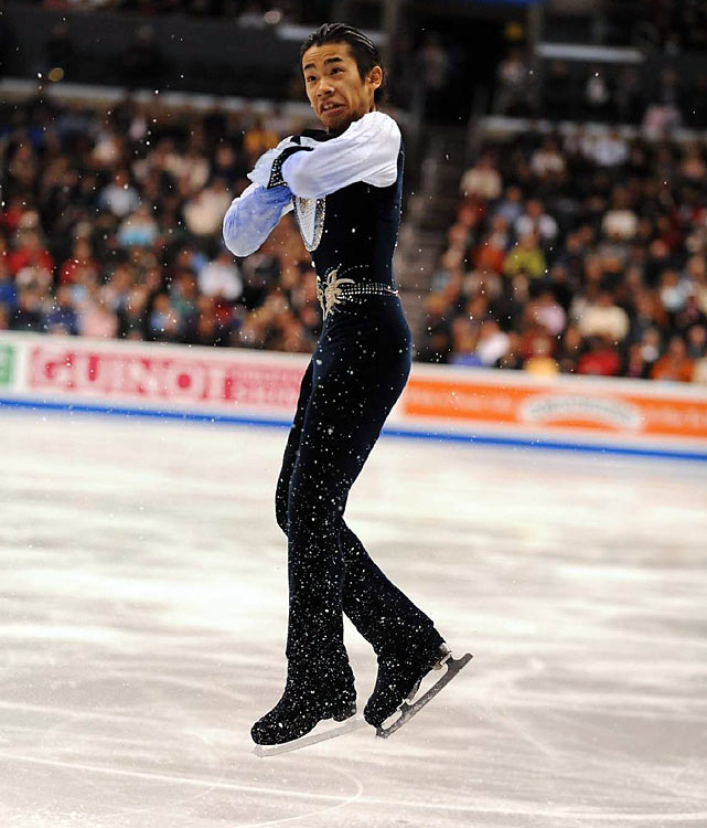 By winning Japan's national championship in 2005, Oda was set for Turin until judges discovered a scoring error that took away his gold medal, as well as the Olympic berth. Two years later, he was suspended by the Japanese skating federation for operating a moped under the influence and sat out the 2007-08 season. Oda returned the following winter and won the national title -- this time for real. Now 22, the charismatic performer has won two Grand Prix events this season and came in second at the Grand Prix Final in December.