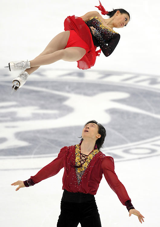 The veteran pairs skaters just missed the podium in Turin and are determined to medal in their third trip to the Olympics. Their extensive experience should be an advantage: Pang and Tong, both 30, started skating at age six and have been paired since 1993. Together, the 2006 world champs have won four Chinese national titles and four Four Continents championships. This season, they won both of their Grand Prix assignments and placed second at the final.