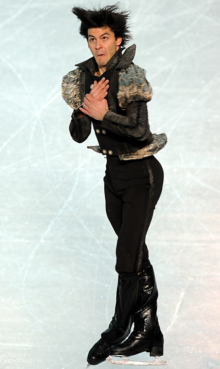 If the results of last month's European Championships are any indication, the men's contest at the Olympics could be déjà vu from the Turin Games, when Evgeni Plushenko and Lambiel finished one-two, respectively. Both skaters retired before announcing comebacks last year. Like his Russian rival, Lambiel, a two-time world champion, reasserted his dominance quickly, picking up a Swiss title (his 11th since 1998) and the Nebelhorn Trophy this season.