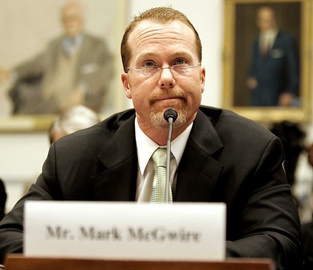 Image result for MARK MCGWIRE TESTIFYING  GIFS