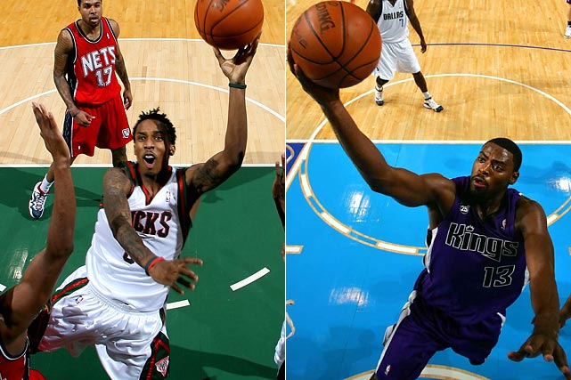 The 2009 draft has produced several early contributors, most notably Brandon Jennings, who scored 55 points in his sixth game but has slumped lately, and Tyreke Evans, who is threatening to become the fourth rookie to average 20 points, five rebounds and five assists. The draft has yielded gems outside the lottery, too, including Denver's Ty Lawson (No. 18 pick), Sacramento's Omri Casspi (No. 23) and Detroit's Jonas Jerebko (No. 39).