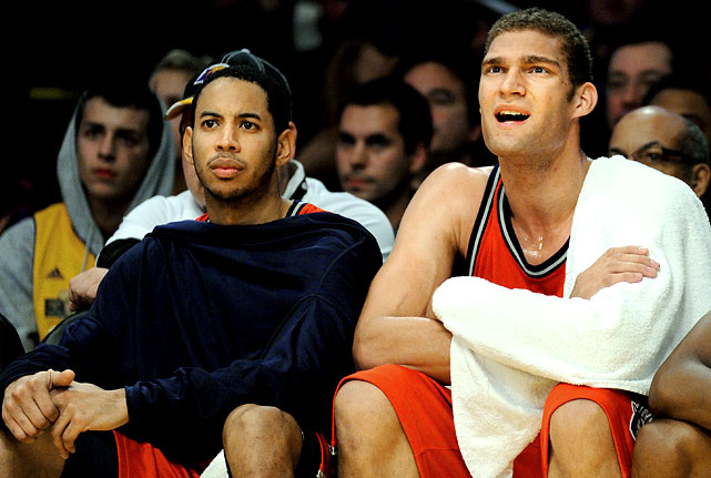 New Jersey was expected to struggle this season, but with Devin Harris at the point, Brook Lopez at center and several young prospects, they weren't supposed to be <i>this</i> bad.  The Nets set an NBA record with 18 consecutive losses to start a season, the first 16 under Lawrence Frank before he was fired and replaced on an interim basis by general manager Kiki Vandeweghe. On top of that, they are on pace to break the single-season futility mark set by the 1972-73 Sixers, who finished 9-73.