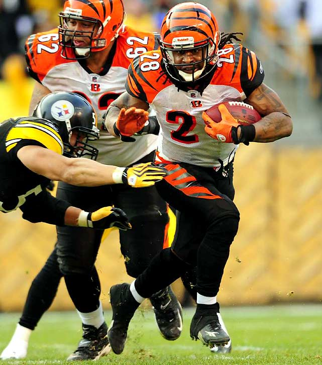 Scott averaged 31.5 yards in 16 kickoff returns, and his 96-yard return was the key to the Bengals' Week 10 win over the Steelers. The Jets' coverage unit gave up two kickoff return TDs to Ted Ginn Jr. in a loss to the Dolphins. In what could be a close, defensive struggle, a big kickoff return could make the difference in Cincy. Scott has been slowed by turf toe, but he says he's ready to go Saturday.
