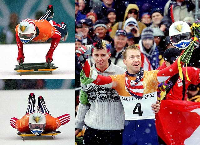 The unprecedented third member of an American family to appear in a Winter Olympics (his father, Jim Sr., competed in Nordic Combined at Innsbruck in 1964), Jimmy Shea became the first U.S. athlete to win gold in men's skeleton. His victory was especially poignant when he held aloft a photo of his grandfather, Jack, the 1932 speed skating gold medalist who had died two weeks earlier.