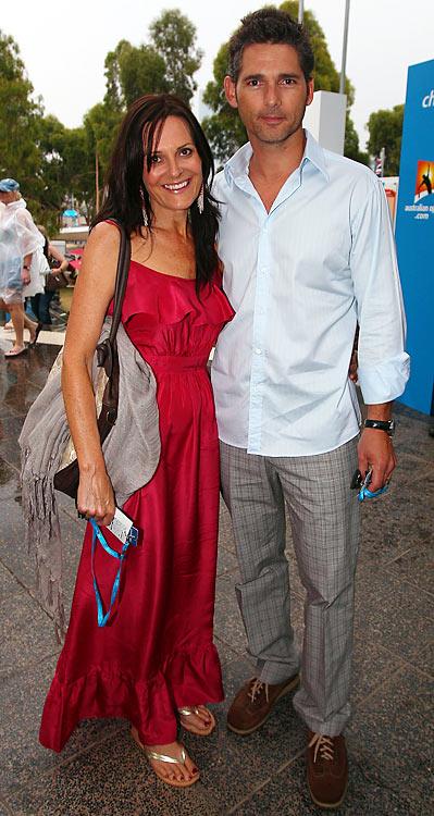 Actor (<i>Hulk</i>, <i>Munich</i>), and his wife Rebecca Gleeson