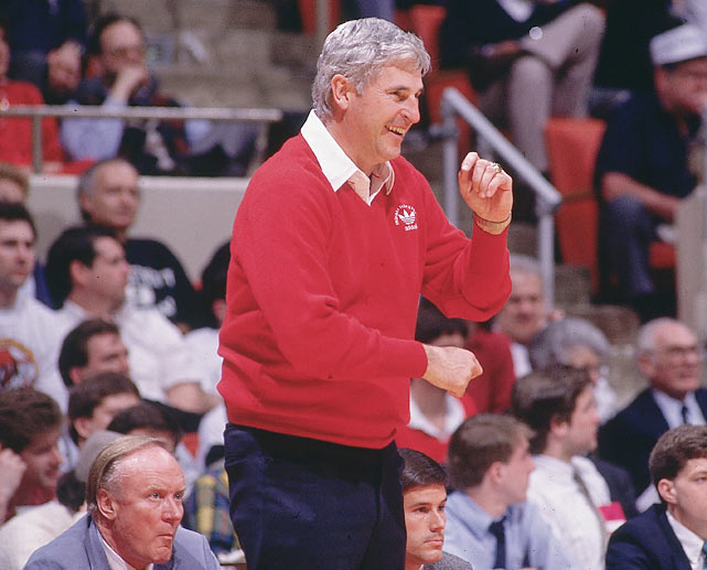 Bobby Knight becomes the all-time leader in coaching wins with 229.