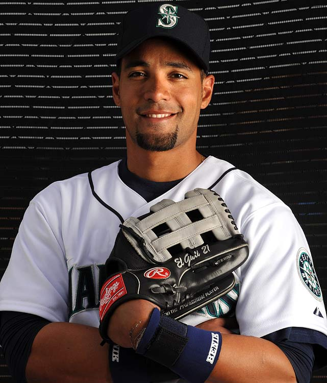 Center fielder Franklin Gutierrez signed a $20.25 million, four-year deal with the Seattle Mariners in 2009 after batting .283 and driving in 70 runs last year with the club.