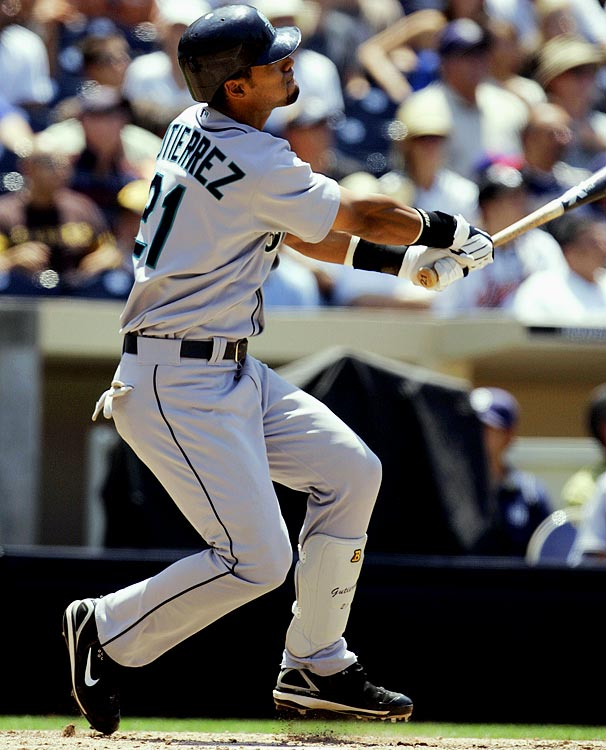 Gutierrez finished the '09 season with 18 home runs, including two dingers in not so hitter-friendly PETCO Park against the San Diego Padres on June 18.