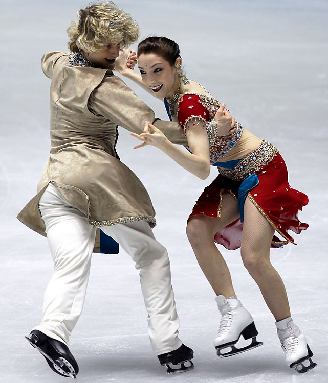 Davis and White at the ISU Grand Prix of Figure Skating Final in Tokyo last December.