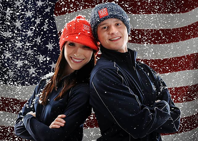 Ice dancers Meryl Davis and Charlie White are representing the United States in the Winter Olympics after winning the ice dancing national championship