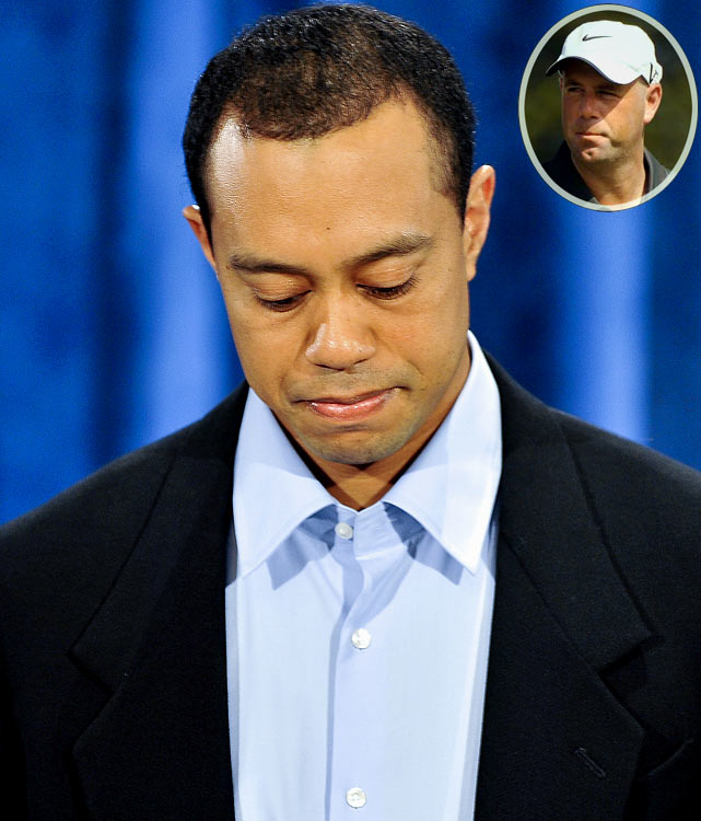 """I was moved by how difficult it seemed to be for him. But it's a big part of the process to go through that difficulty and to face up to what's happened. And especially the hurt that other people are feeling, his friends and family."" <br>-- Golfer Stewart Cink"