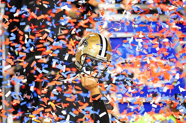 If a picture is worth a thousand words, this one says it all in the wake of Super Bowl XLIV.