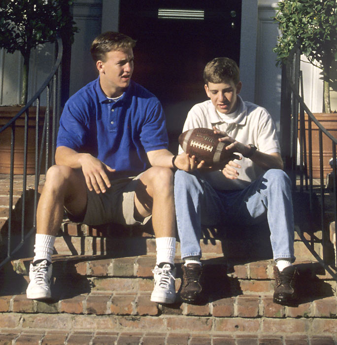 Listen, kid, there's no way you're ever going to be as good as I'm going to be. But let me give you a few pointers.