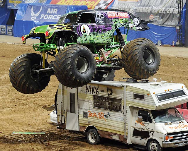 SI photographer David E. Klutho shot Monster Jam in St. Louis last week. Here are some of his shots from the event.
