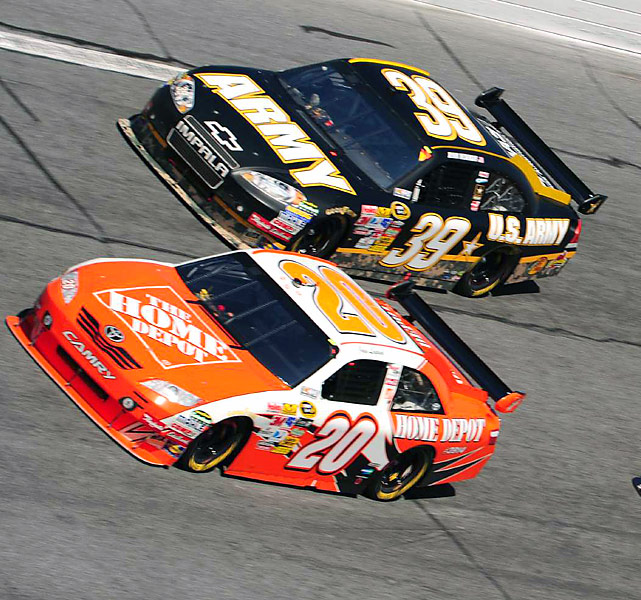 Teenager Joey Logano, easily the youngest driver in Sunday's race, finished in 20th place on the day -- not bad for his inaugural Daytona 500.