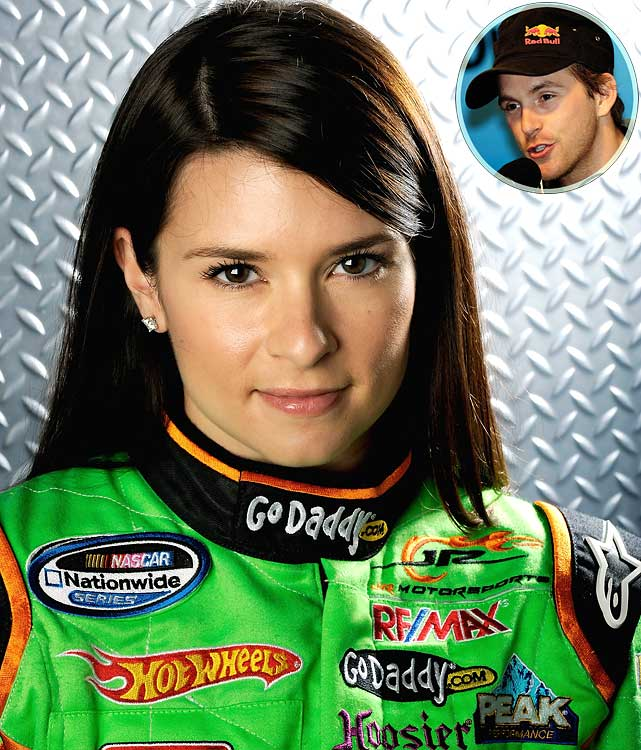 """According to the 'media' not only is Danica the most amazing racing driver since Dale Sr. but she is also related to Jesus lol."""