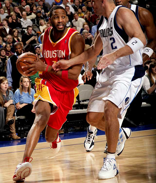 The NBA's highest-paid player essentially parted ways with the Rockets in late December after playing limited minutes in a six-game stint in his return from microfracture knee surgery. The Rockets could keep McGrady on ice for the rest of the season or attempt to turn his $22.5 million expiring contract into immediate help in their push to make the playoffs. The Knicks have been mentioned as a possible trade partner.