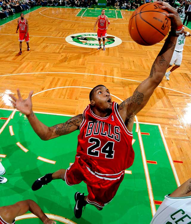 The fourth-year forward's season has included so-so production and a suspension for conduct detrimental to the team. Thomas has relinquished his starting job this season, and he's been frustrated over playing time. The Bulls reportedly are seeking a first-round pick and an expiring contract for the talented Thomas, who has yet to fulfill his potential. Minnesota is believed to be interested.