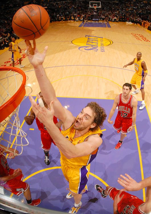 The three-time All-Star defies his 7-foot, 250-pound frame with quickness and a varied shot selection. Though he's dealt with a few injuries this season, Gasol has undeniably been a force for the Lakers inside. In the SI poll, 2.7 percent of voters said he's underappreciated.