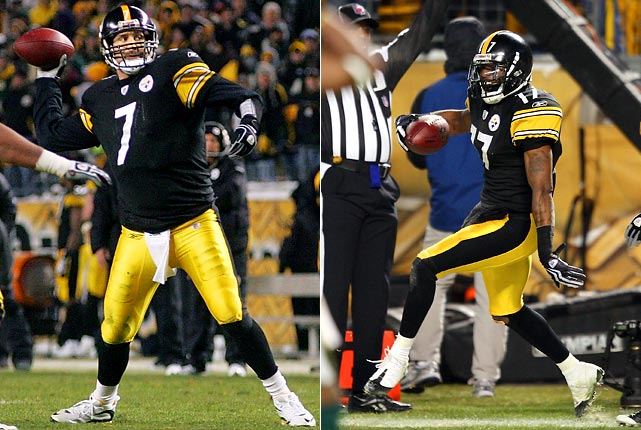 Of the handful of last-play, game-winning touchdown passes in 2009, Pittsburgh fans will fondly remember Ben Roethlisberger's 19-yard strike to rookie Mike Wallace that gave the Steelers a 37-36 win over Green Bay. Big Ben threw for a franchise-record 503 yards in that game to help end a five-game losing streak.