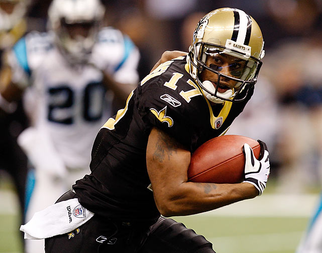 Robert Meachem sparked the Saints with a 54-yard touchdown catch late in the third quarter as the Saints rallied past the Panthers 30-20. The defense caused three fumbles.
