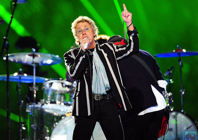Prior to Super Bowl, The Who's biggest gig was probably the original Woodstock festival in 1969. They also performed at the landmark Monterey Pop Festival in 1967. Through the 1970s, they were one of rock's most popular and important bands, but the devotion of their hardcore fans has never waned. The Who were inducted into the Rock & Roll Hall of Fame in 1990, in their first year of eligibility.