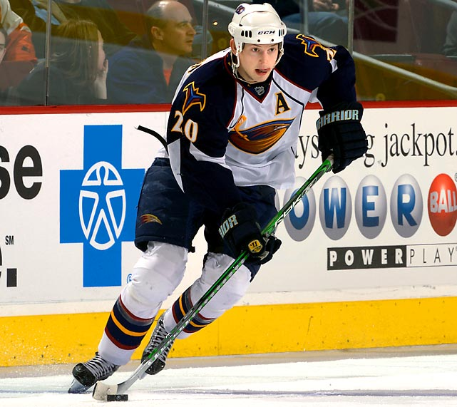 The Thrashers aren't done dealing. Energy forward Armstrong becomes an unrestricted free agent this summer and hasn't always been on the best of terms with coach John Anderson. A return to the Penguins for a middle-round pick wouldn't surprise anyone. There's also a chance that oft-injured goaltender Kari Lehtonen might finally be sent packing, but Atlanta may decide to cut ties with pending UFA Johan Hedberg instead.