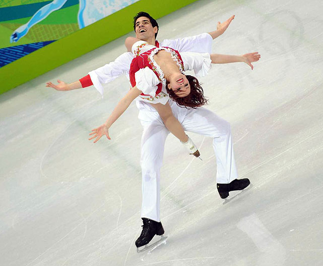 Italy's Anna Cappellini and Luca Lanotte.