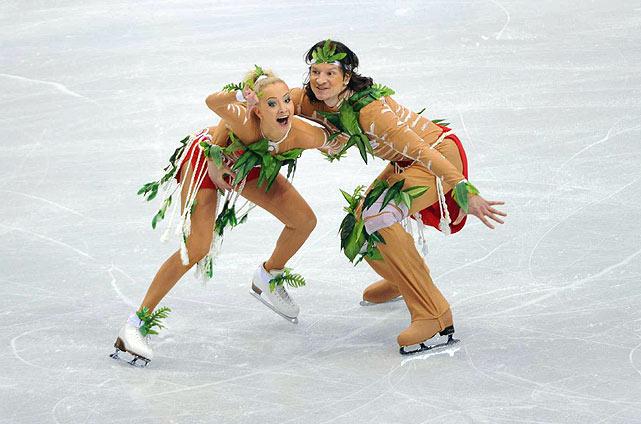 Russia's Oksana Domnina and Maxim Shabalin.