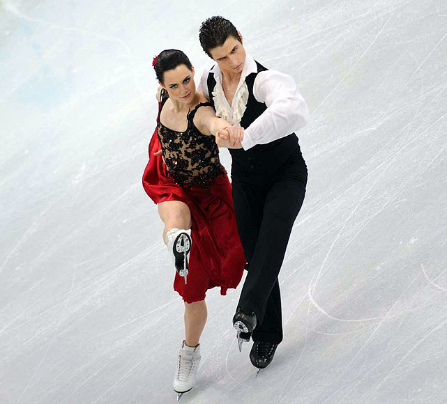 Canada's Tessa Virtue and Scott Moir.