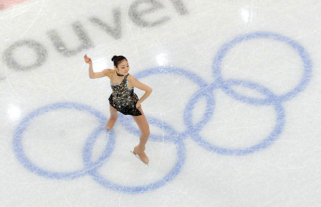 Kim Yu-na went into the Vancouver Games as the overwhelming favorite for figure skating gold -- a position that has proved something of a curse in Olympics past.