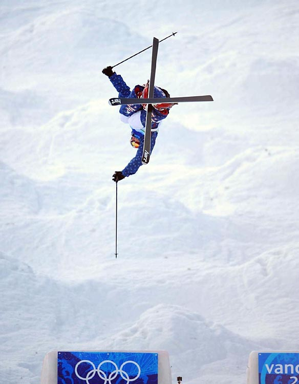 Bryon Wilson of the U.S. States finished third in the moguls.