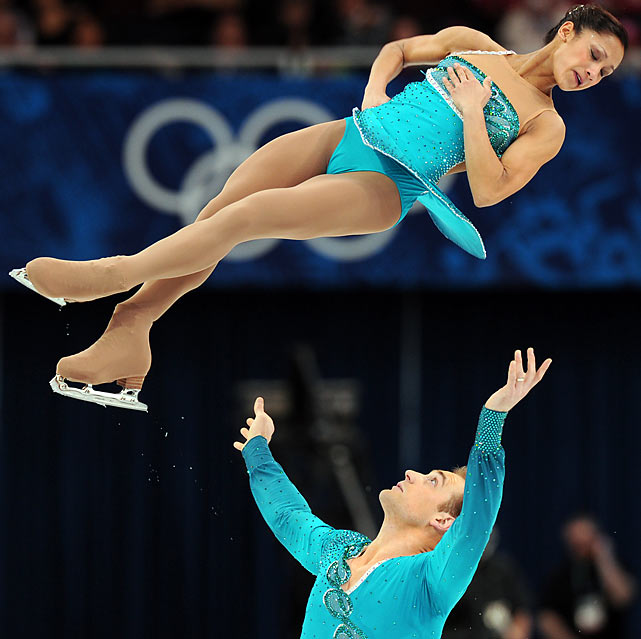 Amanda Evora and Mark Ladwig were the highest finishing U.S. pairs team,  but their10th place finish made this the country's worst Olympic showing in pairs.