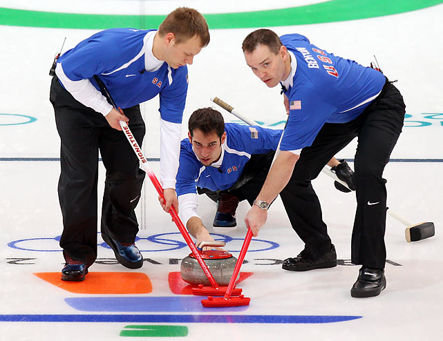 The U.S. curling team lost twice on Tuesday, 7-5 to a strong German squad and 6-5 to Norway in an extra end.
